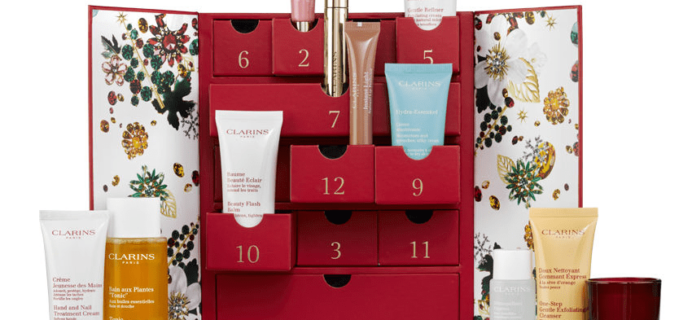 2017 Clarins Beauty Advent Calendar Coming Soon!