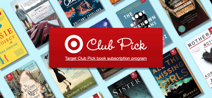 New TARGET Subscription Box: Book Club Picks + September 2017 Spoilers!