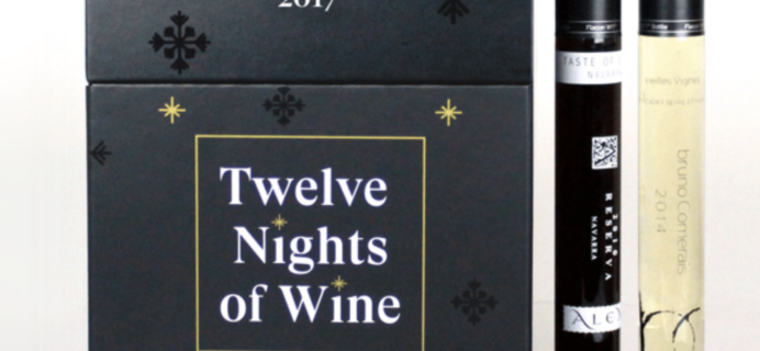 2017 Vinebox 12 Nights of Wine Advent Calendar Available Now!