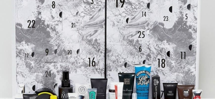 ASOS Men's Grooming Advent Calendar 2017 Available Now!