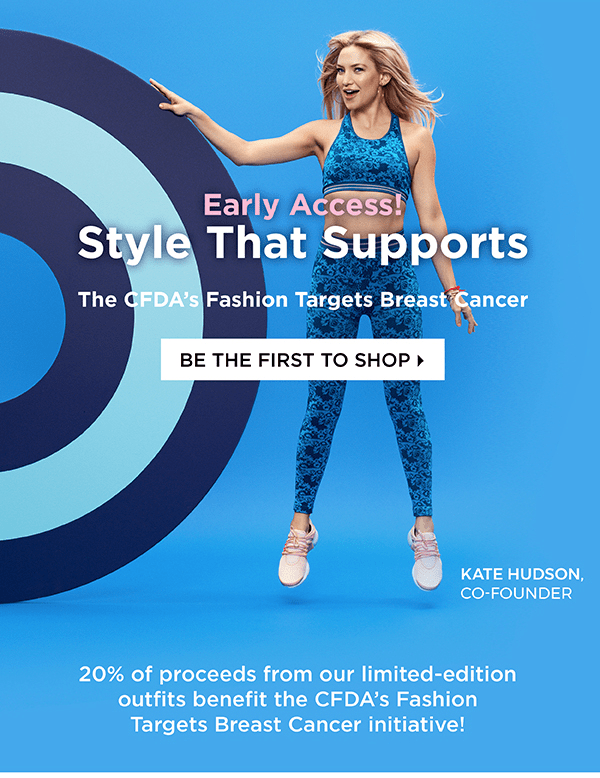 Fabletics x CFDA Limited Edition Collection Available Now!