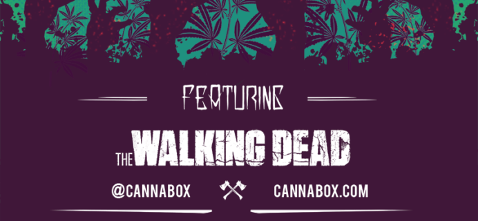 October 2017 Cannabox Spoilers + Coupon