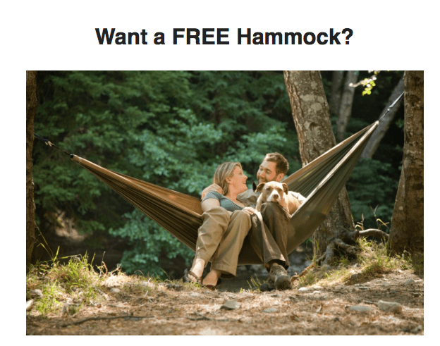 The Nomadik Flash Deal: Get a Grand Trunk Hammock FREE!