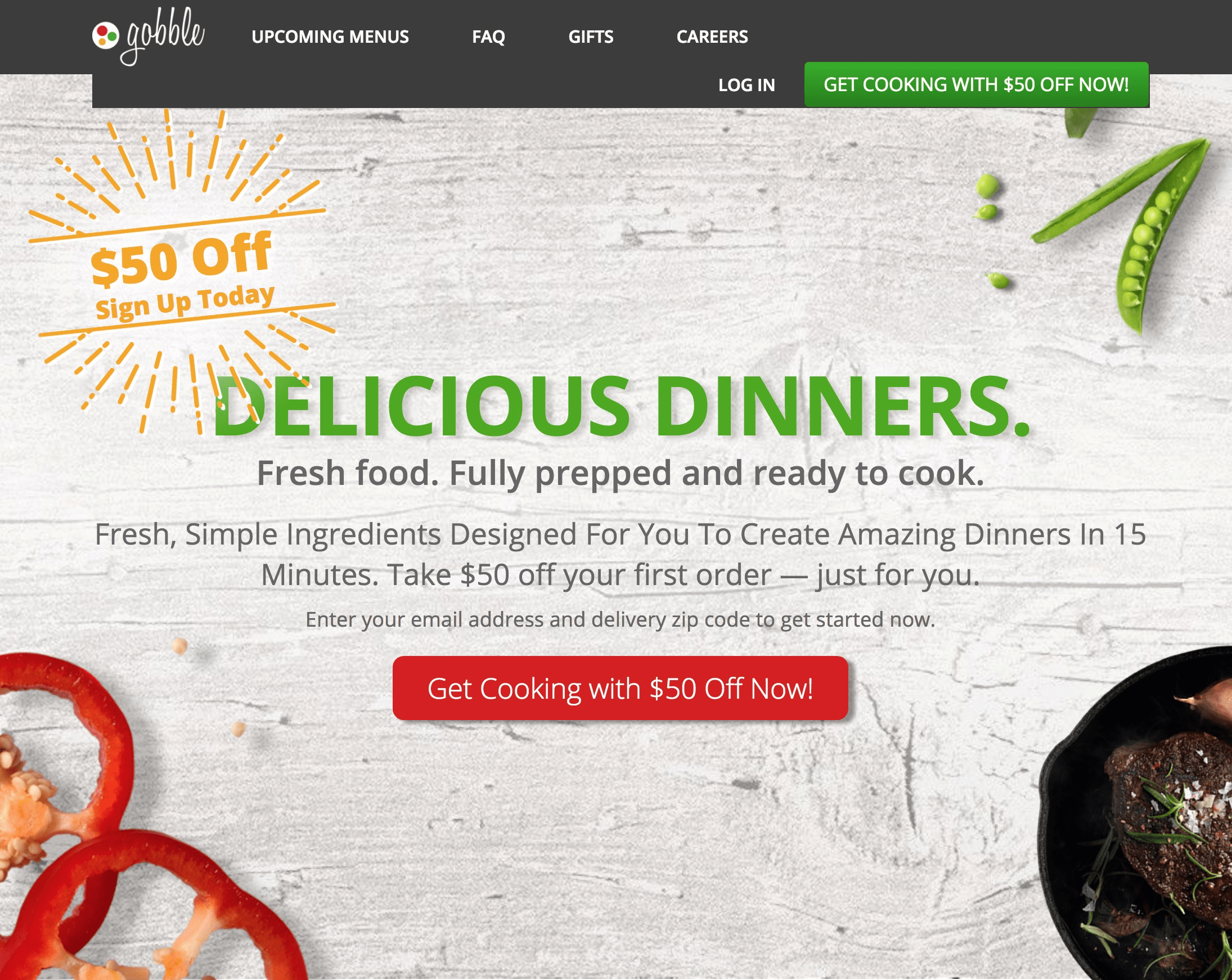 Gobble coupon code