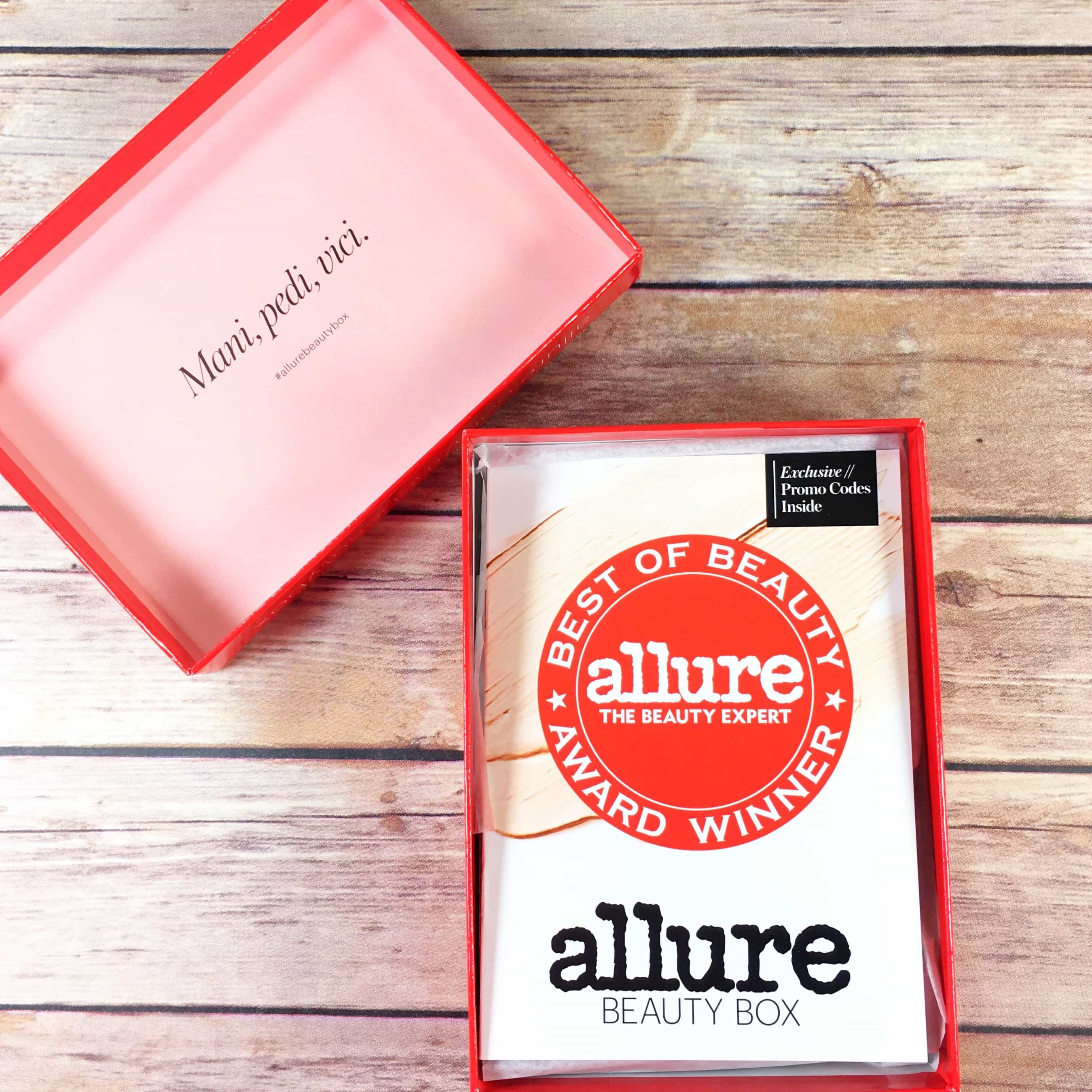 Allure Beauty Box September 2017 Subscription Box Review & Coupon