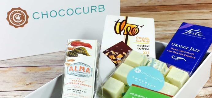 Chococurb Classic September 2017 Subscription Box Review
