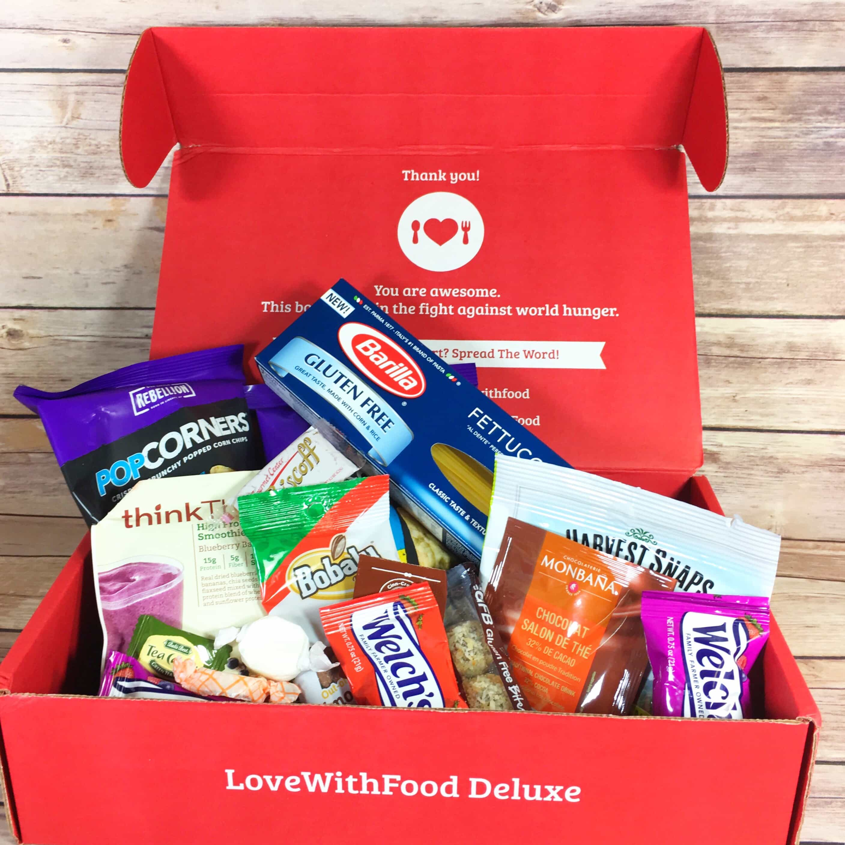 Love With Food September 2017 Deluxe Box Review + Coupon