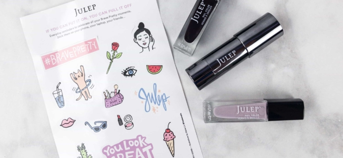 Julep Beauty Box September 2017 Subscription Box Review + Free Box Coupon!