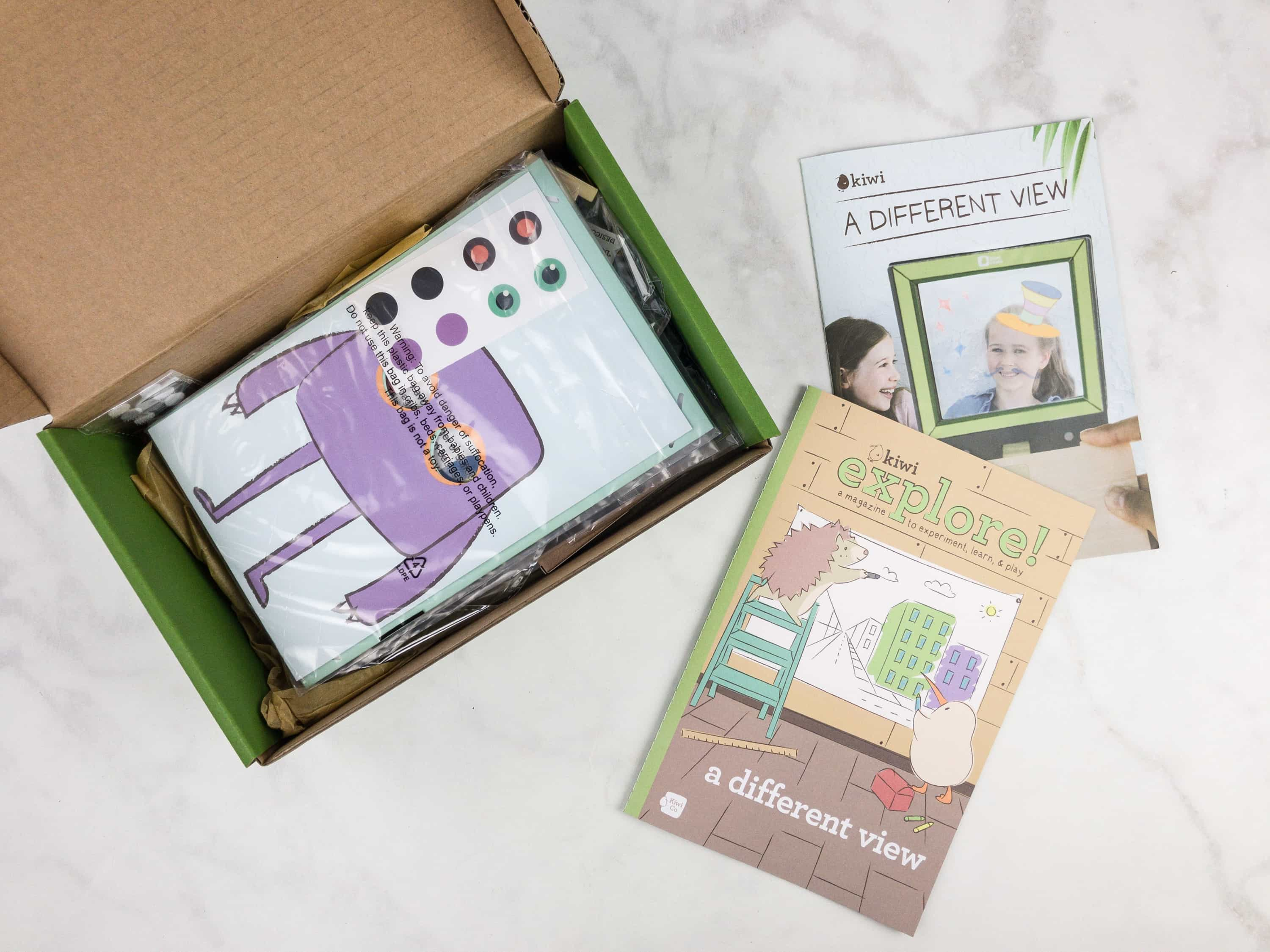 Kiwi Crate September 2017 Review & Coupon – A Different View!