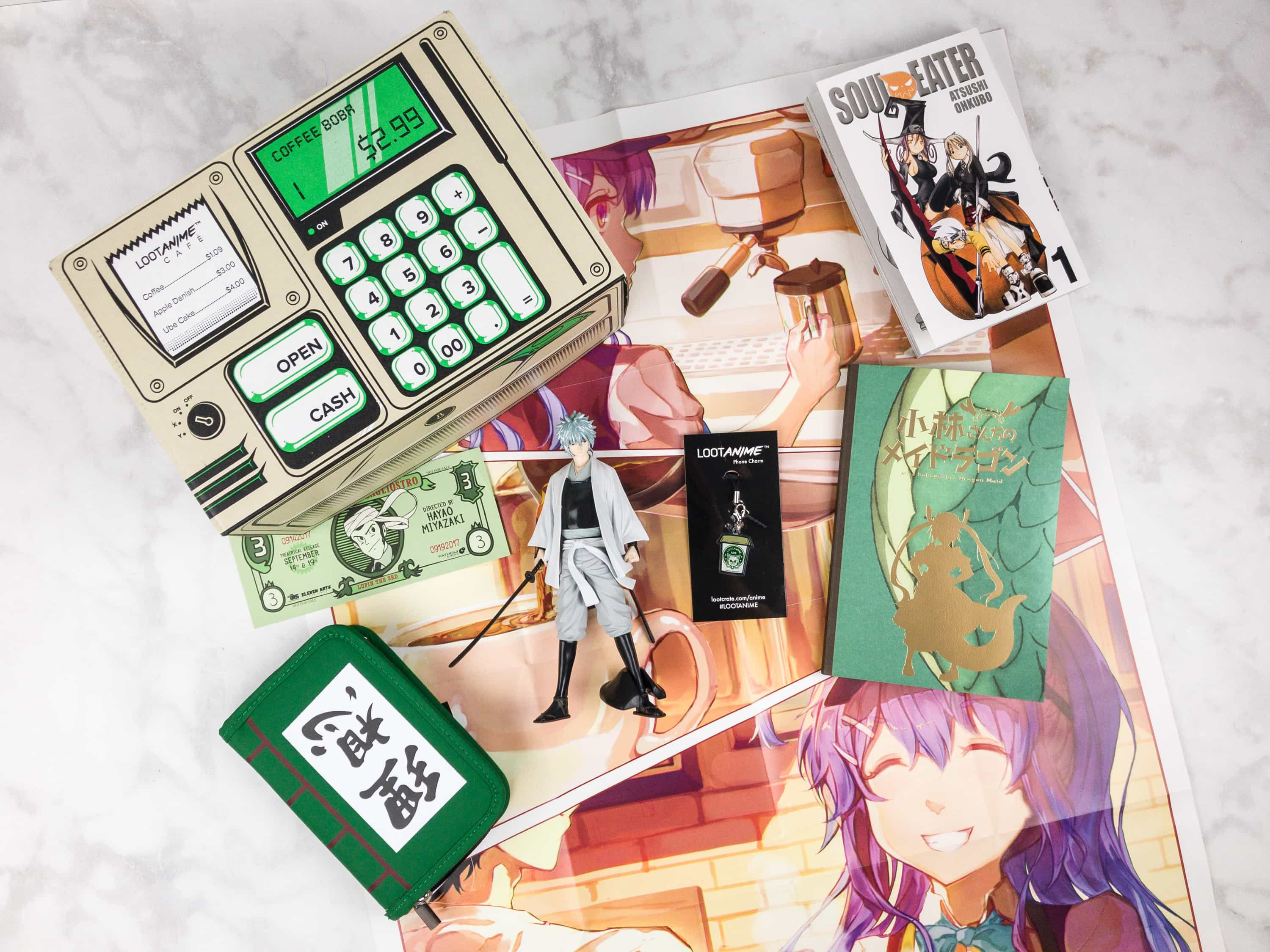 Loot Anime August 2017 Subscription Box Review & Coupons – WORK FOR IT!
