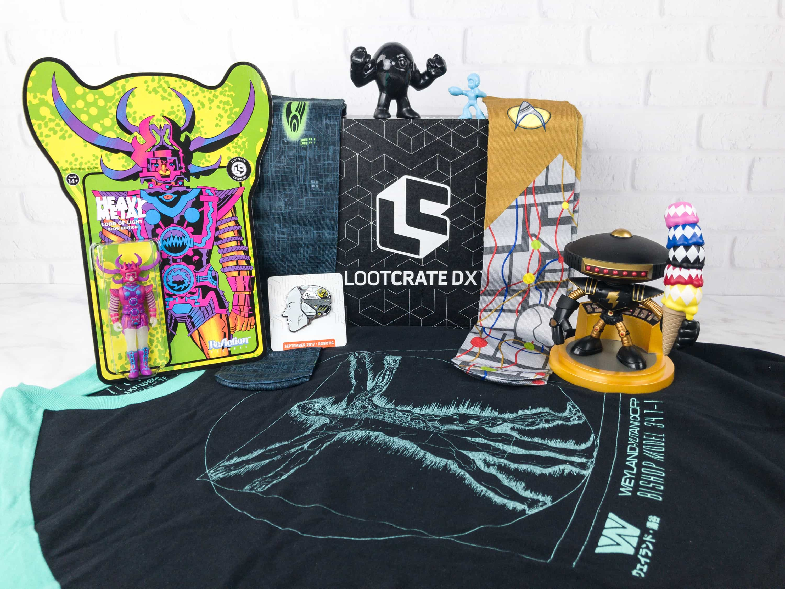 Loot Crate DX September 2017 Subscription Box Review & Coupon