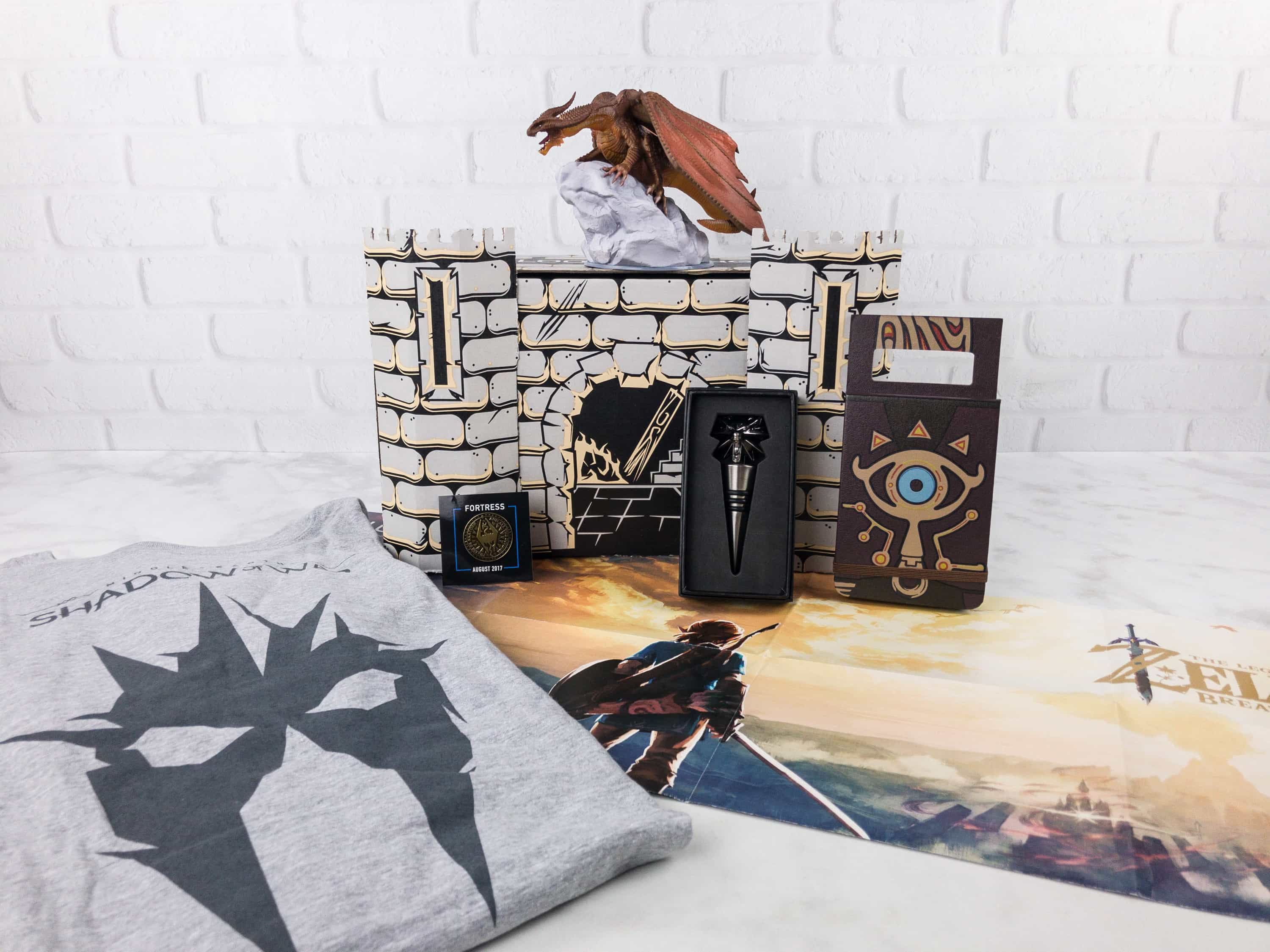 Loot Gaming August 2017 Subscription Box Review & Coupon