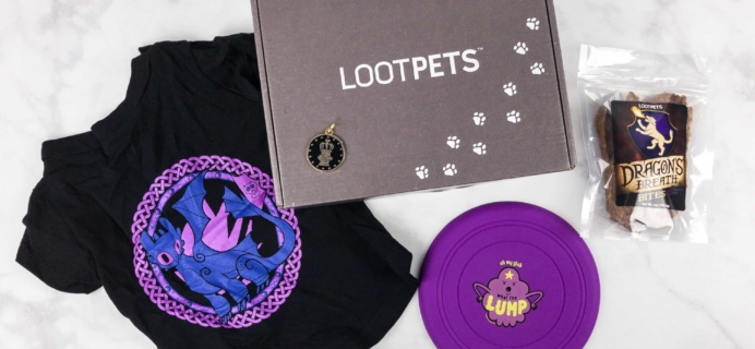 Loot Pets August 2017 Review & Coupon