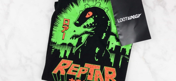 Loot Tees August 2017 Review & Coupon