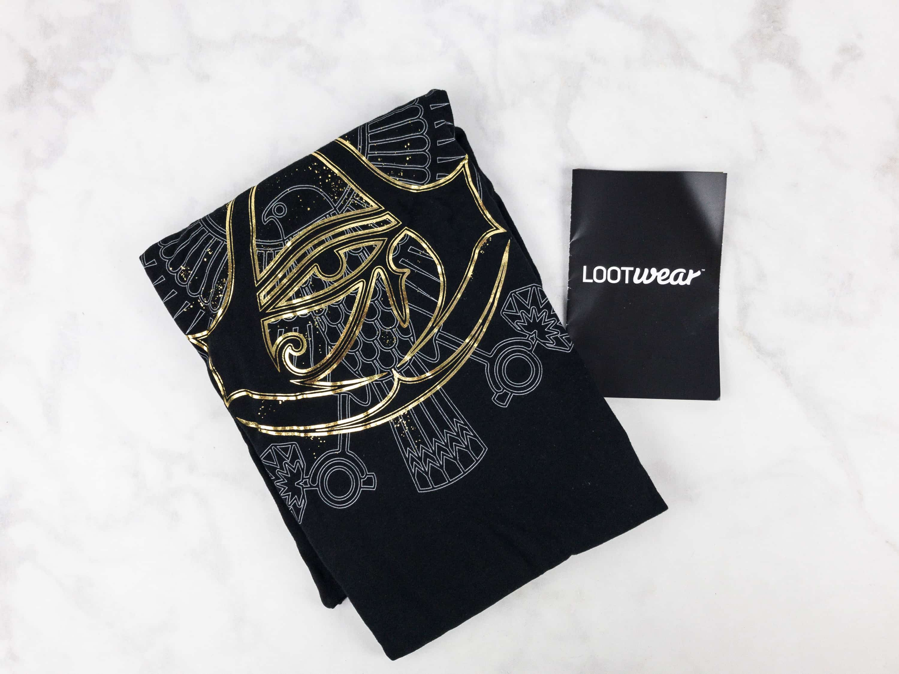Loot Wearables Subscription by Loot Crate August 2017 Review & Coupon