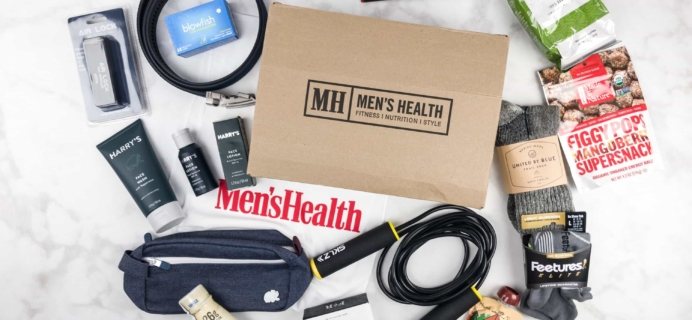 Men's Health Box Fall 2017 Subscription Box Review