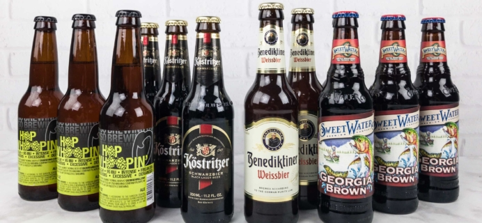 The U.S. and International Variety Beer Club September 2017 Subscription Box Review + Coupons