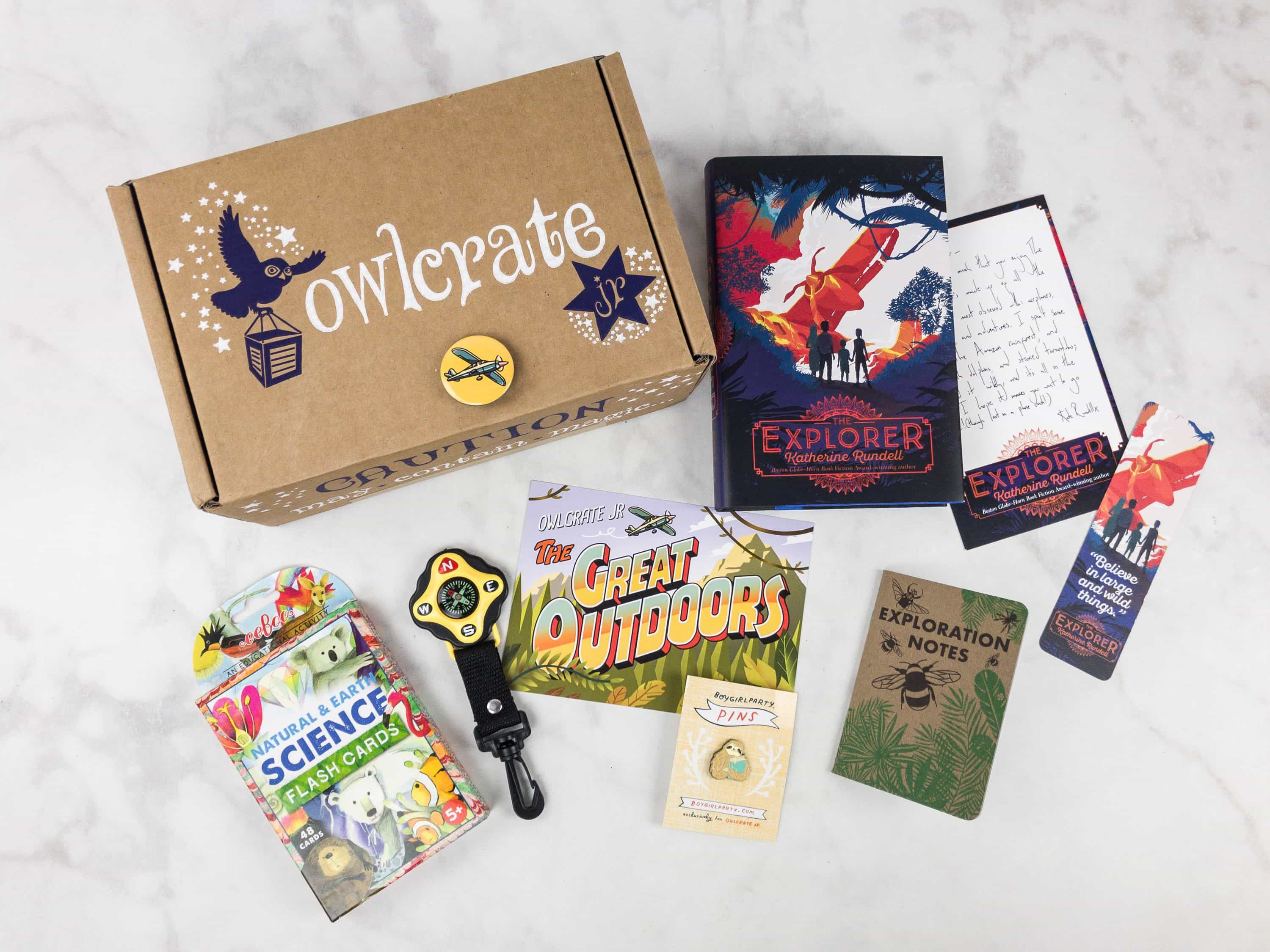 OwlCrate Jr. October 2017 Box Review + Coupon