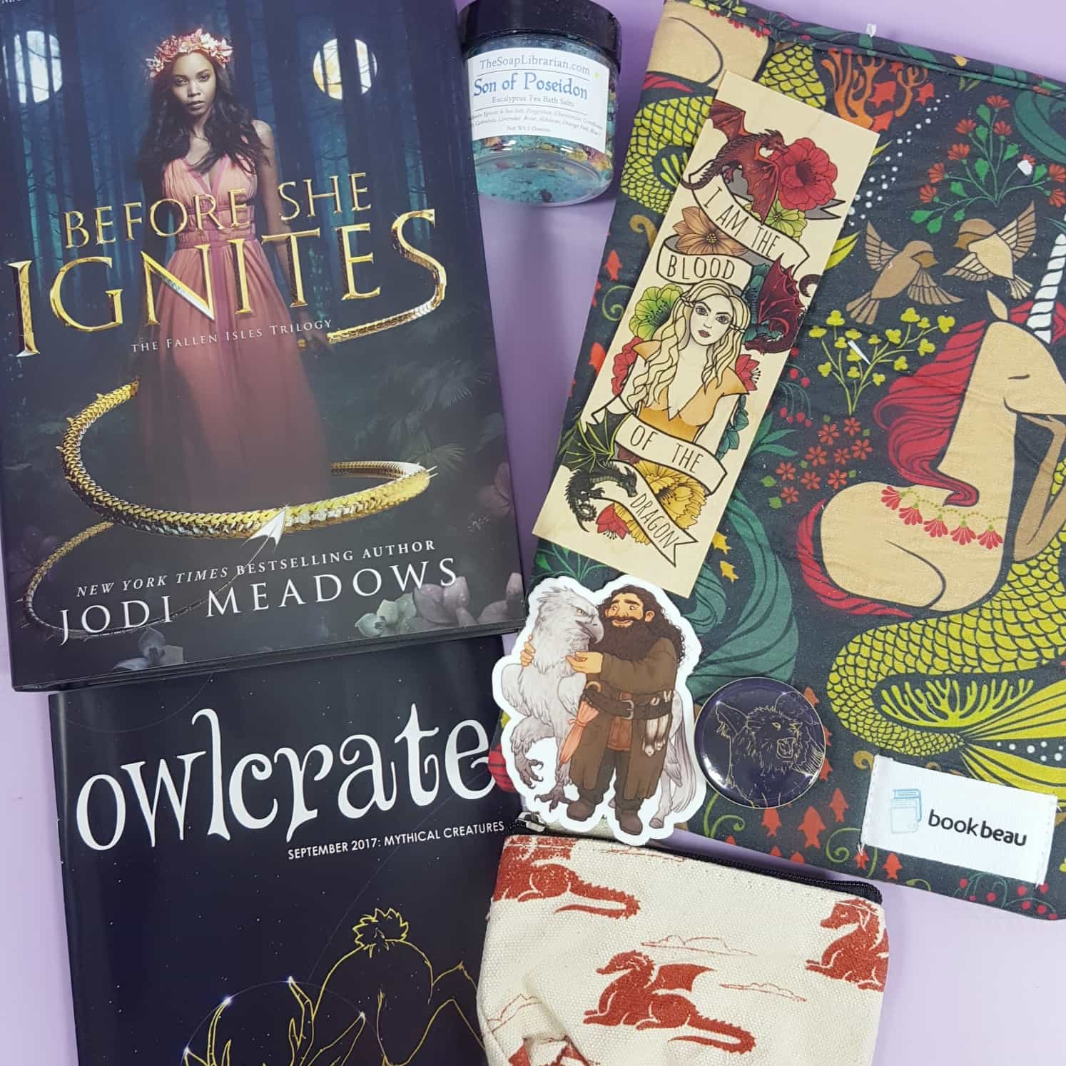 OwlCrate September 2017 Subscription Box Review + Coupon