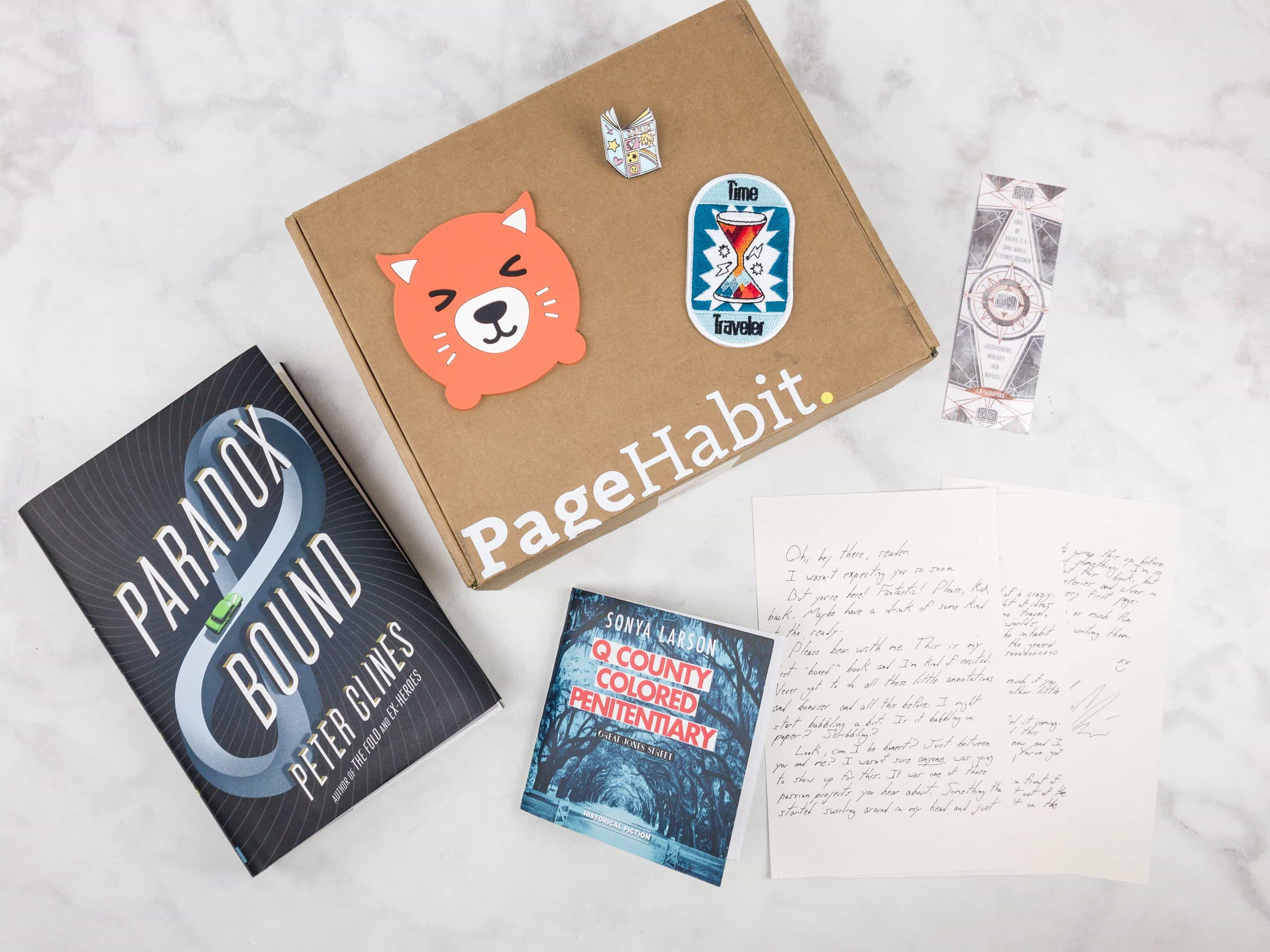 PageHabit September 2017 Subscription Box Review + Coupon – Science Fiction