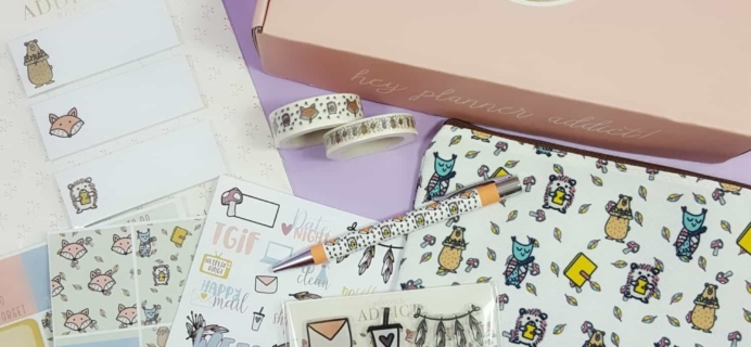 The Planner Addict Box September 2017 Subscription Box Review