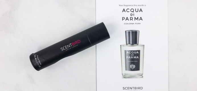 Scentbird for Men September 2017 Subscription Review & Coupon