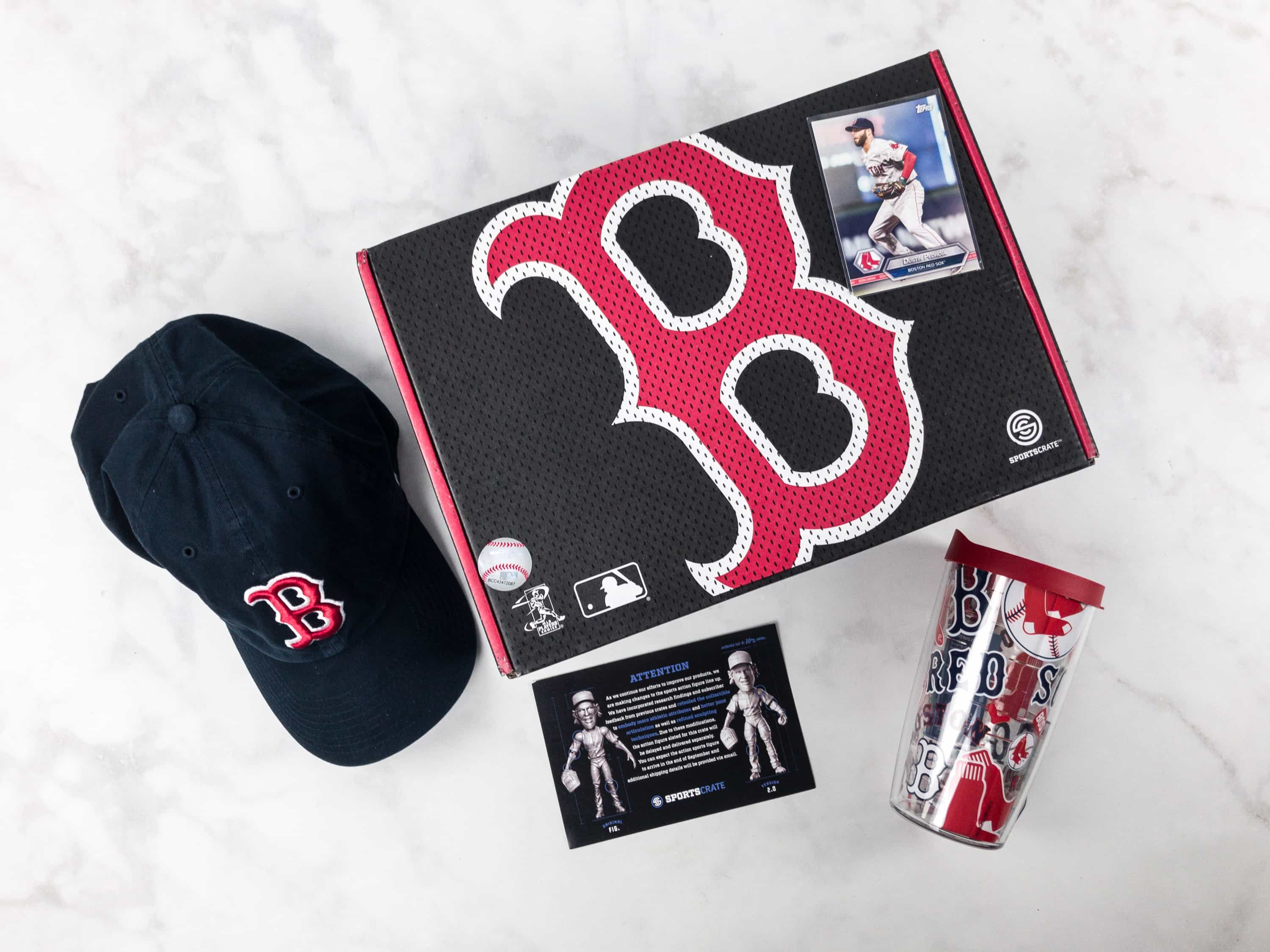 Sports Crate MLB Edition August 2017 Review + Coupon