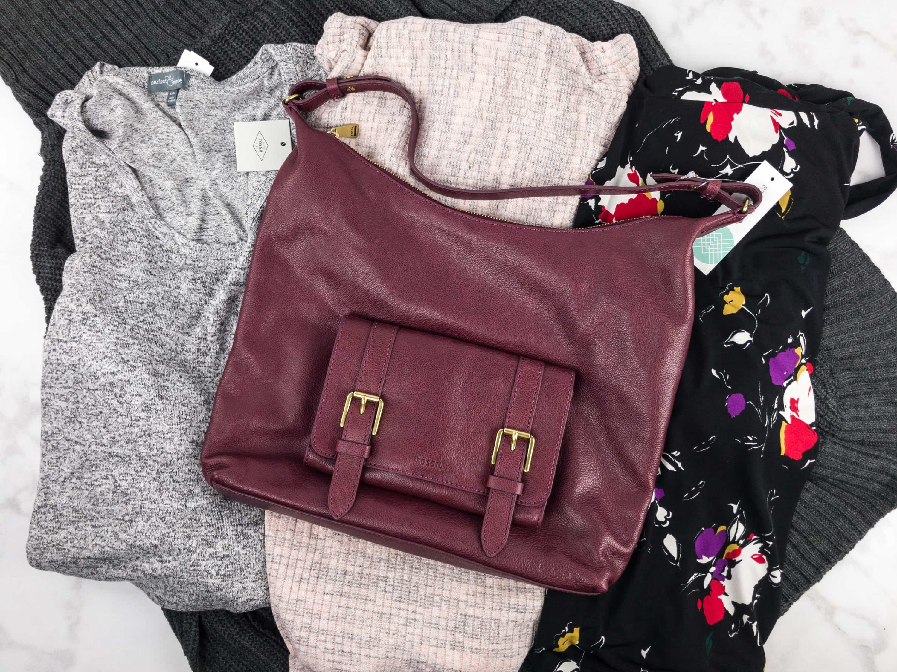 October 2017 Stitch Fix Subscription Box Review {Maternity/Plus}