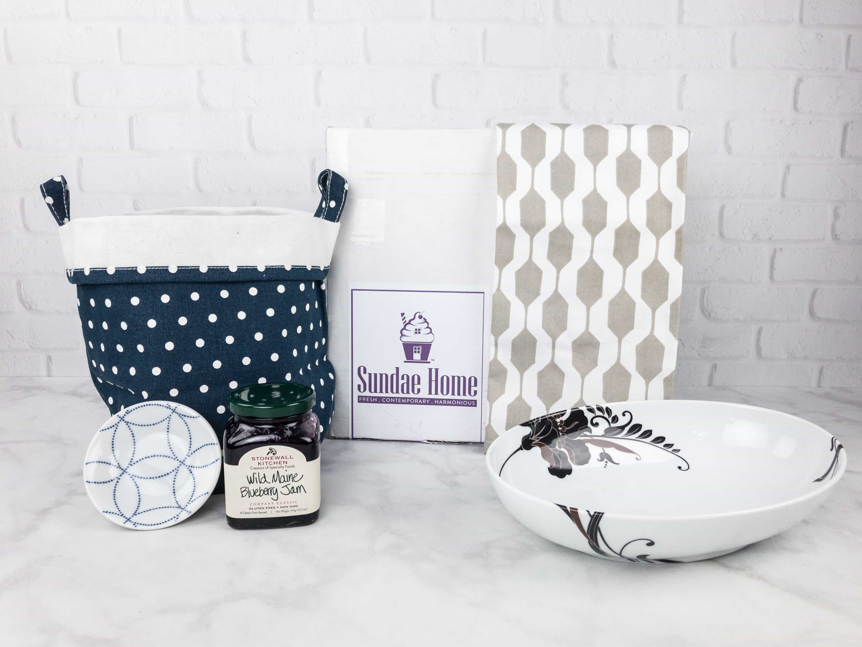 Sundae Home September 2017 Subscription Box Review + Coupon!