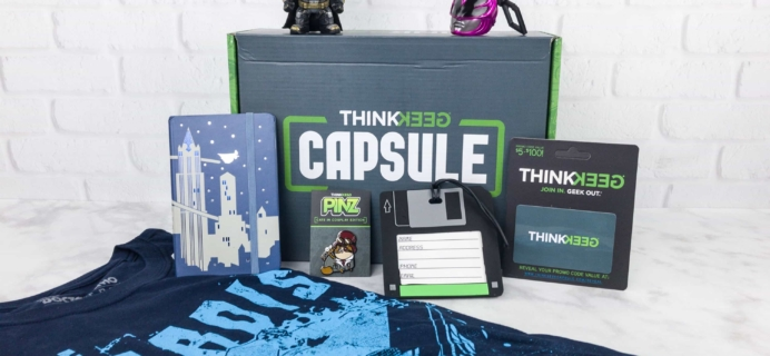 ThinkGeek Capsule August 2017 Subscription Box Review