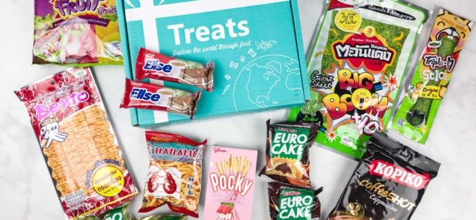 Treats Box September 2017 Review & Coupon – Thailand