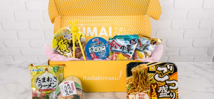 Umai Crate August 2017 Subscription Box Review + Coupon