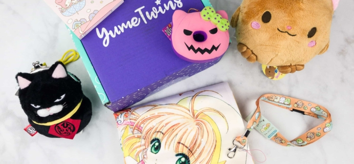 YumeTwins October 2017 Subscription Box Review + Coupon