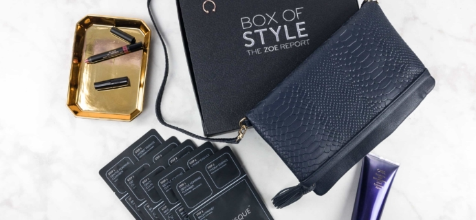 Zoe Report Box of Style Fall 2017 Review + Coupon