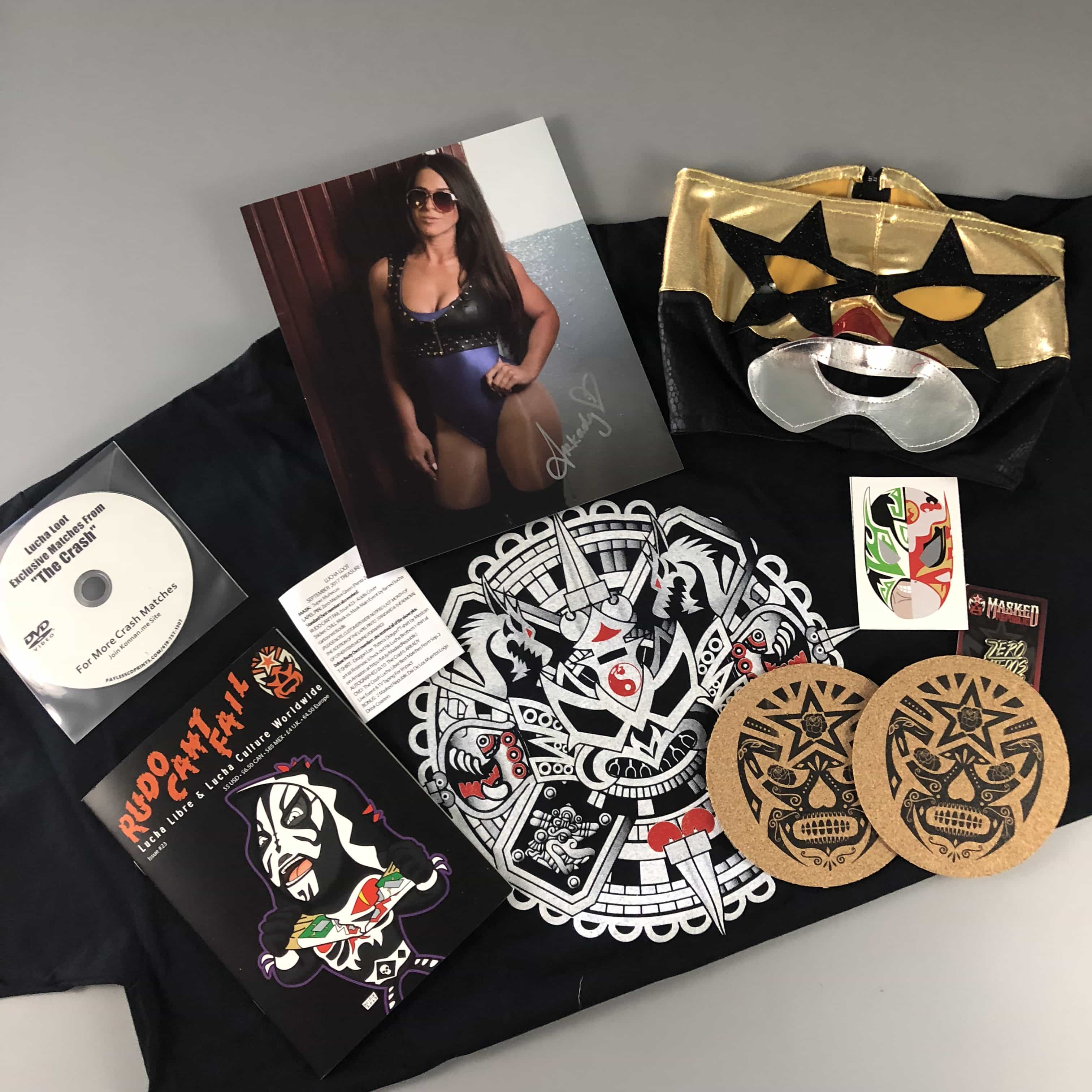 Lucha Loot Subscription Box Review & Coupon – September 2017