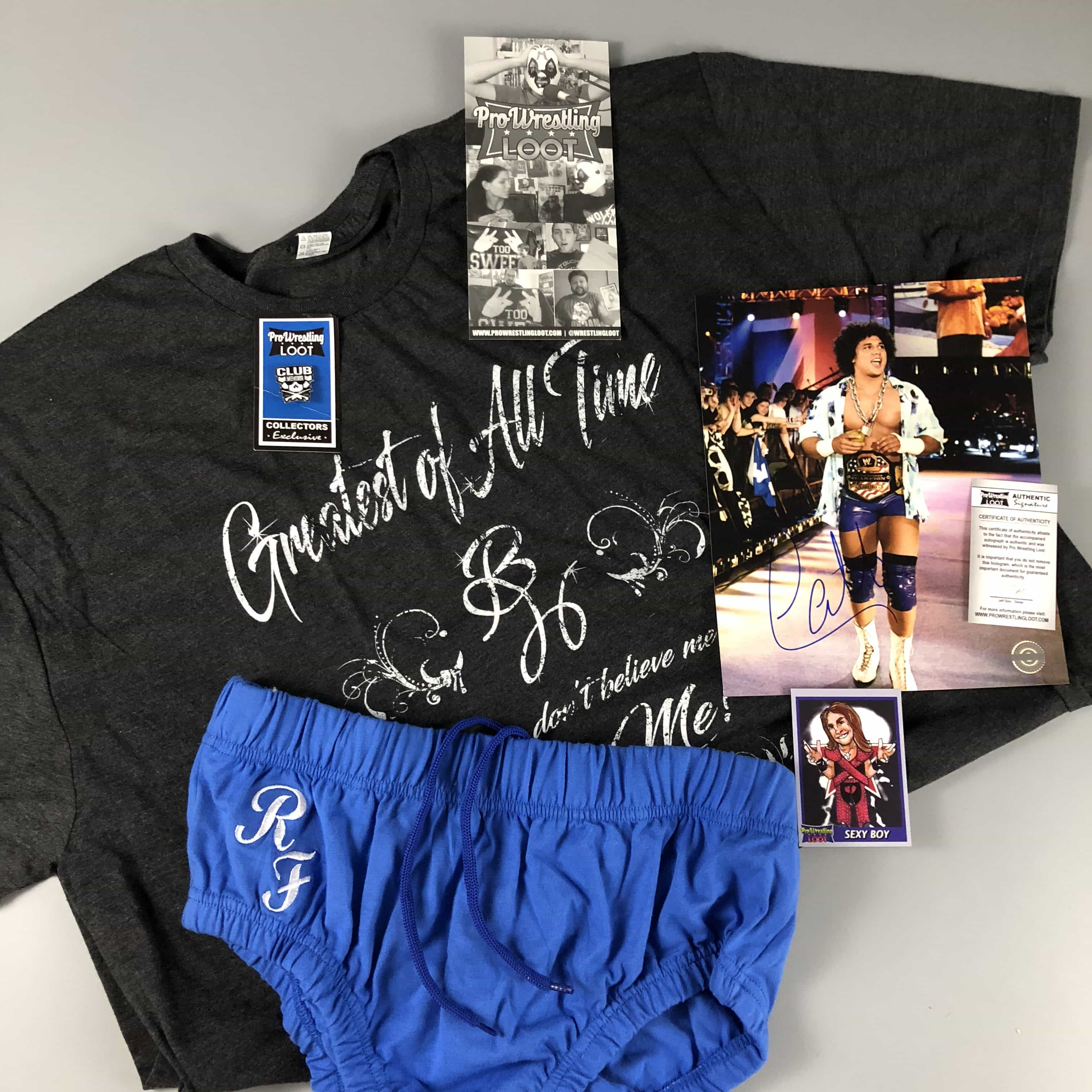 Pro Wrestling Loot October 2017 Subscription Box Review + Coupon