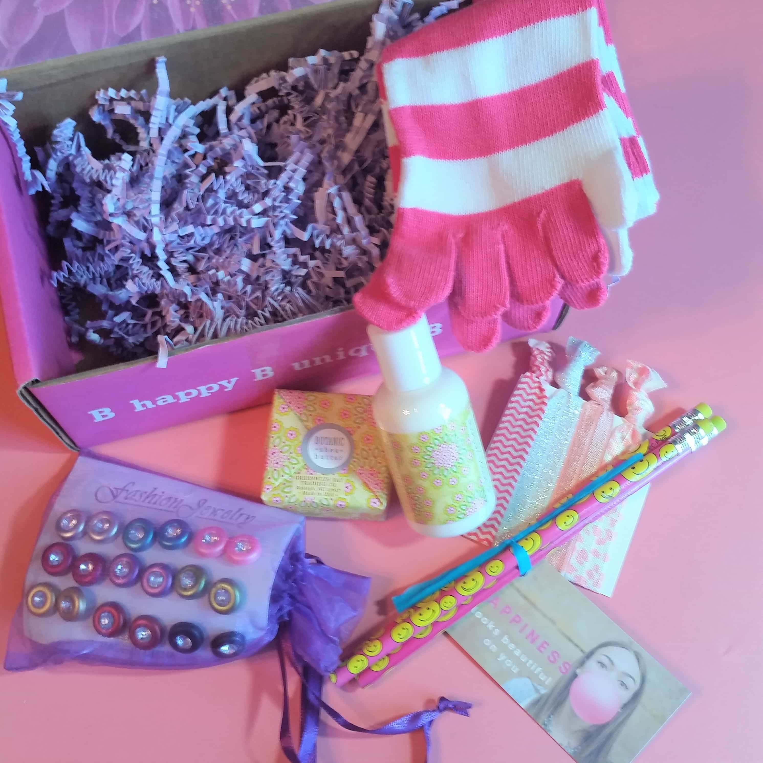 iBbeautiful October 2017 Tween Subscription Box Review