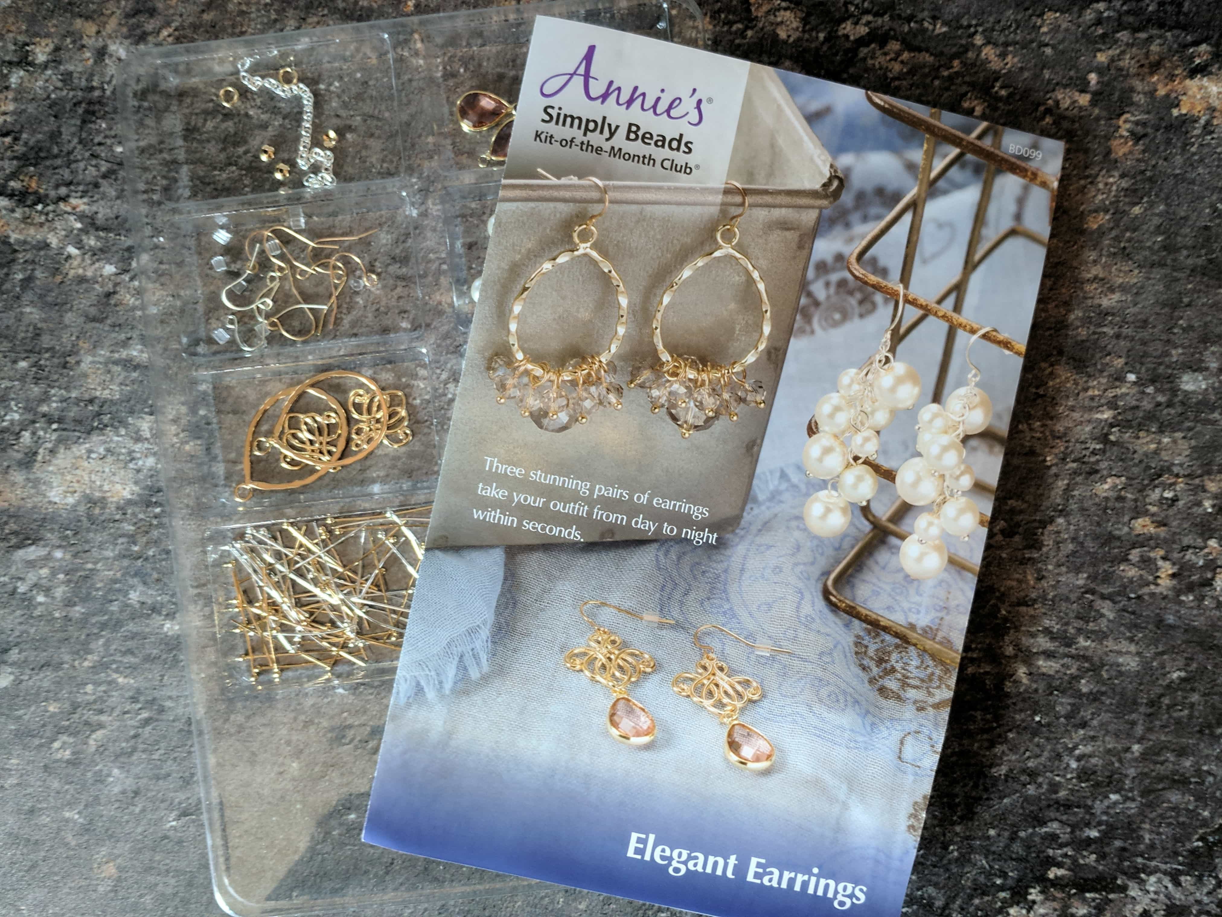 Annie's Simply Beads Kit-of-the-Month Club Subscription Box Review – September 2017