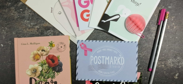 PostBox Subscription Box Review + Coupon – October 2017