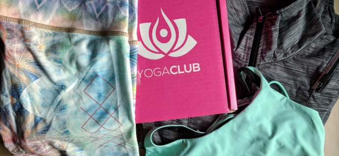YogaClub Subscription Box Review + Coupon – October 2017