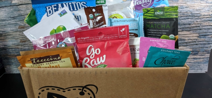 Vegan Cuts Snack Box October 2017 Subscription Box Review