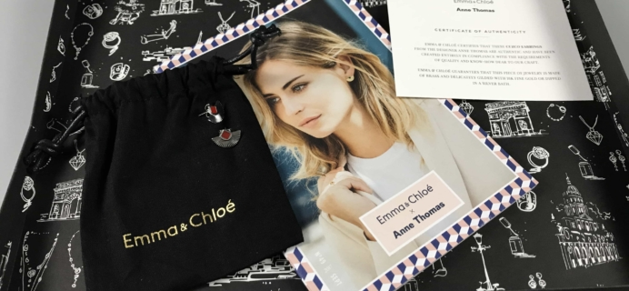 Emma & Chloe Subscription Box Review + Coupon – September 2017