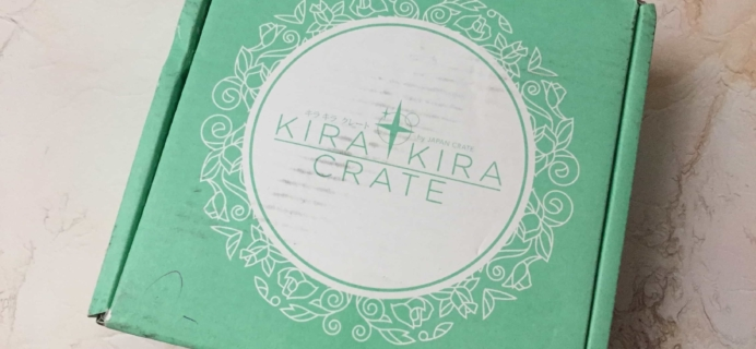 Kira Kira Crate October 2017 Subscription Box Review + Coupon