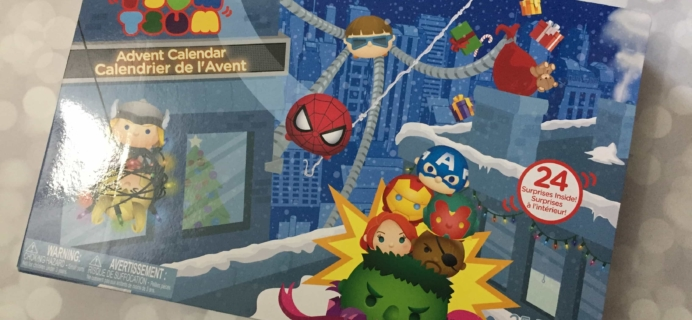 2017 Disney Marvel Tsum Tsum Advent Calendar Mini Review