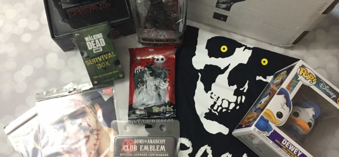 The Collectors Case October 2017 Subscription Box Review