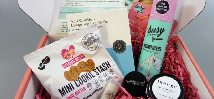 My Reward Box Subscription Box Review – August 2017