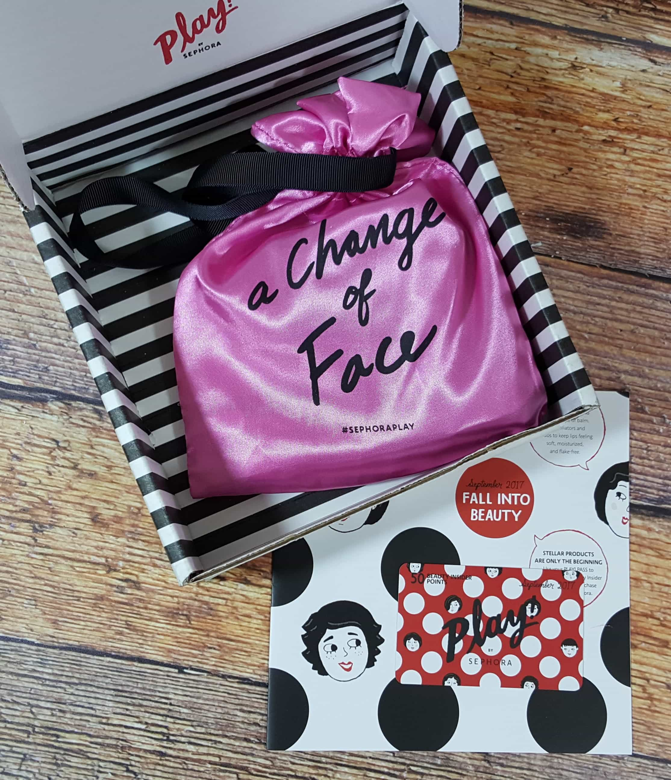 PLAY! by Sephora Subscription Box Review – September 2017