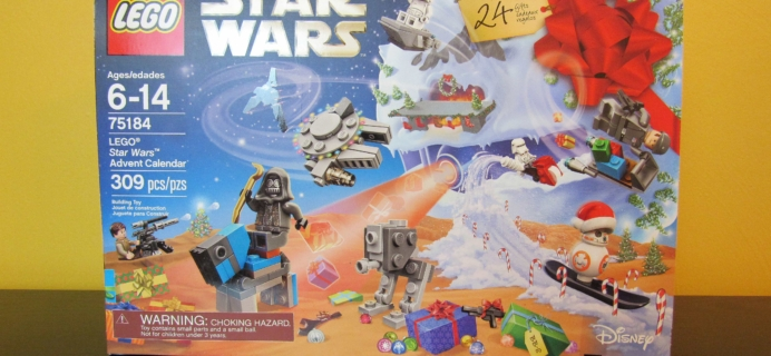 Lego Star Wars Advent Calendar 2017 Mini Review