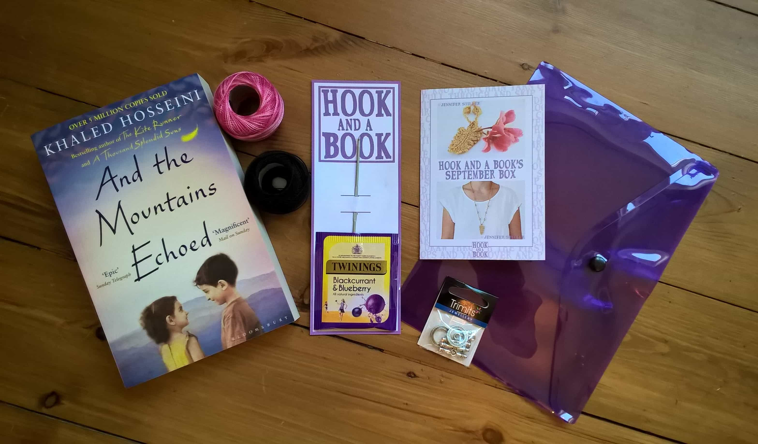 Hook and a Book Subscription Box Review – September 2017