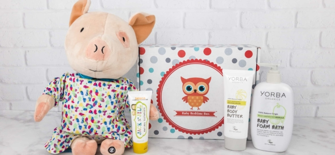 Baby Bedtime Box Cyber Monday 2017 Deal: Get 50% off first box with a 3, 6, or 12 month purchase!